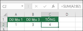 10 hàm cơ bản trong Excel