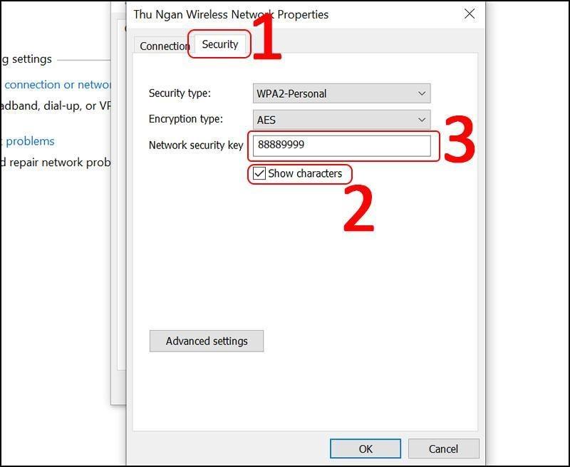 Cách lấy lại mật khẩu wifi khi quên trên máy tính Windows