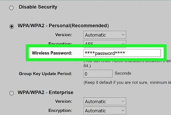 Cách lấy lại mật khẩu wifi từ trang của bộ định tuyến (5)
