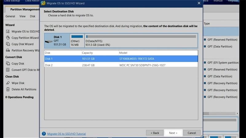Cách chuyển hệ điều hành từ ổ HDD sang ổ SSD không cần cài lại Windows, đơn giản, an toàn và không mất dữ liệu 7