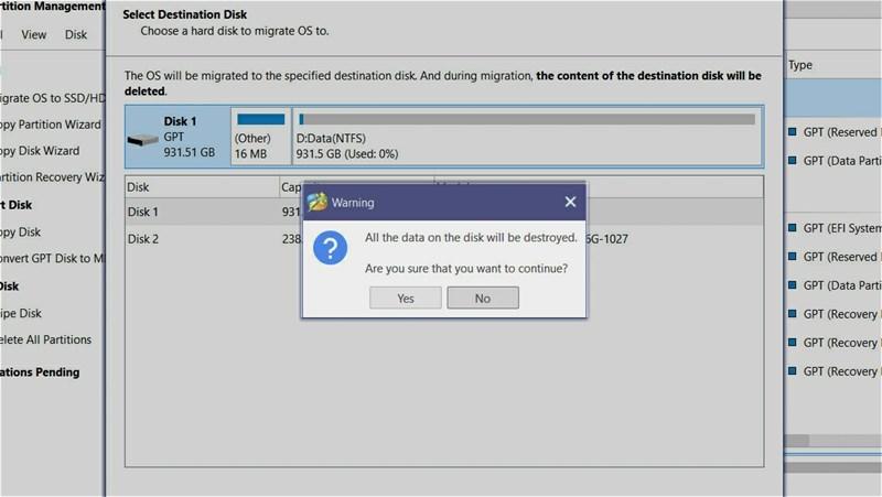 Cách chuyển hệ điều hành từ ổ HDD sang ổ SSD không cần cài lại Windows, đơn giản, an toàn và không mất dữ liệu 8