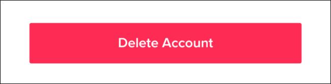 Cách xóa vĩnh viễn tài khoản TikTok
