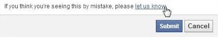 Tên miền bị facebook chặn và cách xử lý