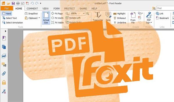 Cắt file PDF bằng Foxit Reader