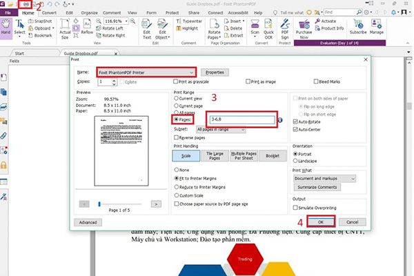 Cắt file PDF bằng Foxit Reader (1)