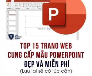 15 trang web cung cấp mẫu powerpoint đẹp và miễn phí