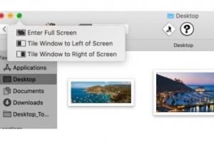 Cách chia cửa sổ ứng dụng thành 1/2 hoặc 1/4 màn hình trong macOS