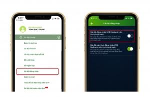 Cách đăng nhập internet banking Vietcombank trên trình duyệt web