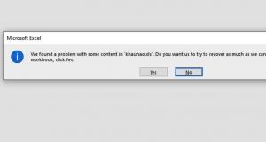 Cách khắc phục nhanh lỗi Excel bắt lưu file với một tên khác