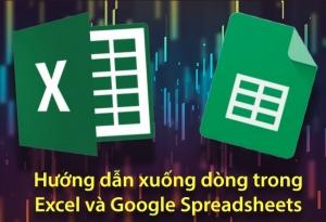 Hướng dẫn sửa lỗi không xuống được dòng trong Excel