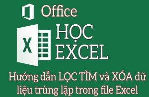 Tìm và xóa dữ liệu trùng lặp trong Excel